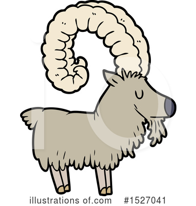 Goat Clipart #1527041 by lineartestpilot