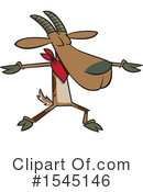 Goat Clipart #1545146 by toonaday
