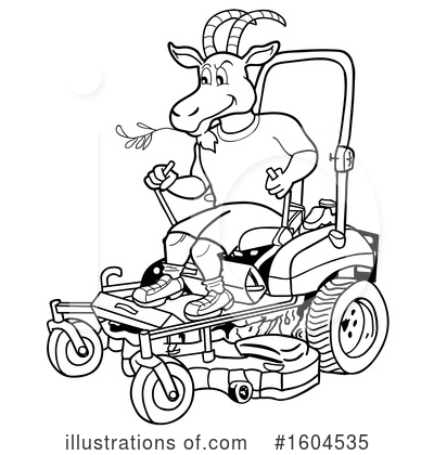 Goat Clipart #1604535 by LaffToon
