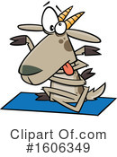 Goat Clipart #1606349 by toonaday