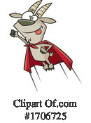 Goat Clipart #1706725 by toonaday