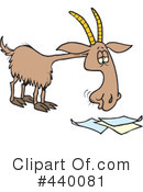 Royalty-Free (RF) Goat Clipart Illustration #440081