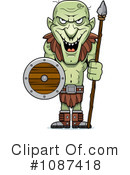 Royalty-Free (RF) Goblin Clipart Illustration #1087418