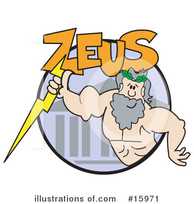 Zeus Clipart #15971 by Andy Nortnik