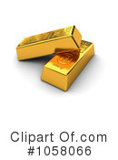 Gold Bar Clipart #1058066