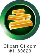 Gold Bar Clipart #1169829