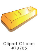 Gold Bar Clipart #79705