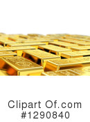 Gold Bars Clipart #1290840 by stockillustrations