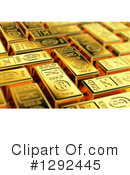 Gold Bars Clipart #1292445 by stockillustrations