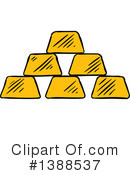 Gold Bars Clipart #1388537
