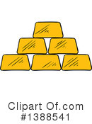 Gold Bars Clipart #1388541