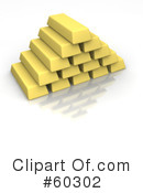 Gold Bars Clipart #60302