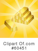 Gold Bars Clipart #60451