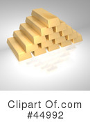 Gold Bricks Clipart #44992