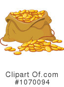 Royalty-Free (RF) Gold Clipart Illustration #1070094