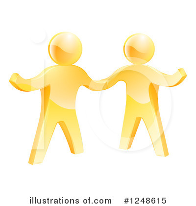 Teamwork Clipart #1248615 by AtStockIllustration