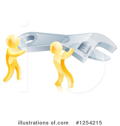 Plumber Clipart #1254215 by AtStockIllustration