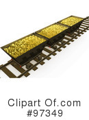 Royalty-Free (RF) Gold Mining Clipart Illustration #97349
