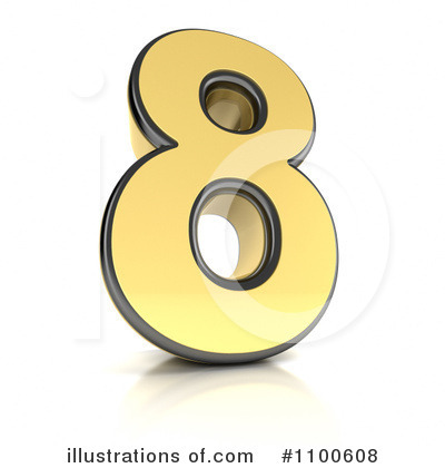 Numbers Clipart #1100608 by stockillustrations