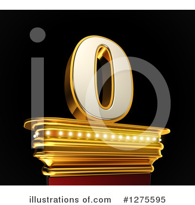 Gold Number Clipart #1275595 by stockillustrations