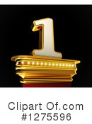 Gold Number Clipart #1275596