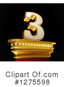 Gold Number Clipart #1275598
