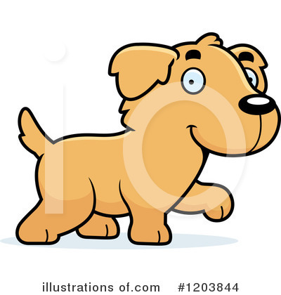 Dog Clipart #1203844 by Cory Thoman