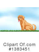 Golden Retriever Clipart #1383451 by Graphics RF