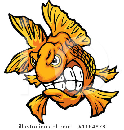 Goldfish Clipart #1164678 by Chromaco