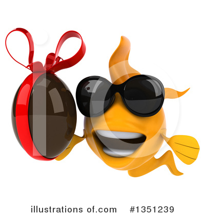 Goldfish Clipart #1351239 by Julos