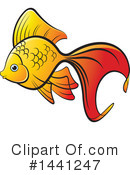 Goldfish Clipart #1441247 by Lal Perera