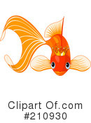 Goldfish Clipart #210930 by Pushkin