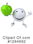 Golf Ball Character Clipart #1284662 by Julos