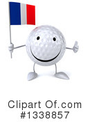 Golf Ball Character Clipart #1338857 by Julos