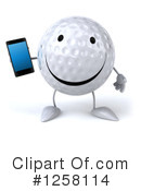 Golf Ball Clipart #1258114 by Julos