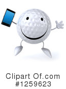 Golf Ball Clipart #1259623 by Julos