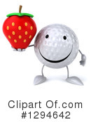 Golf Ball Clipart #1294642 by Julos