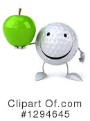 Golf Ball Clipart #1294645 by Julos