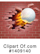 Golf Ball Clipart #1409140