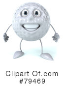 Golf Ball Clipart #79469 by Julos