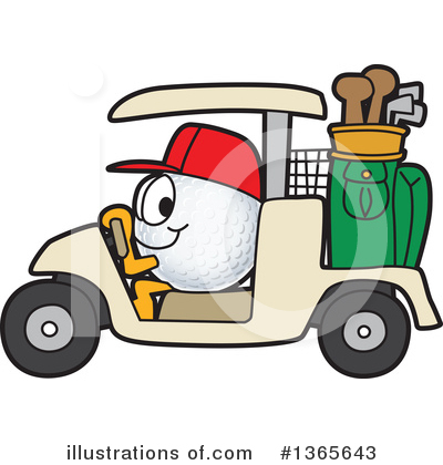 Golf Ball Clipart #1365643 by Toons4Biz