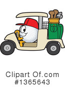 Golf Ball Sports Mascot Clipart #1365643 by Toons4Biz