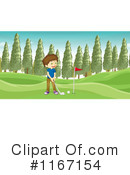 Golf Clipart #1167154 by Graphics RF