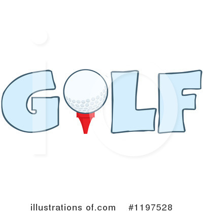 Golf Ball Clipart #1197528 by Hit Toon