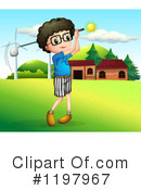 Golf Clipart #1197967 by Graphics RF