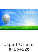 Royalty-Free (RF) Golf Clipart Illustration #1254226