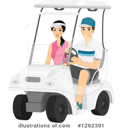 Golf Clipart #1262391 by BNP Design Studio