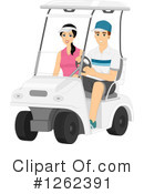 Royalty-Free (RF) Golf Clipart Illustration #1262391