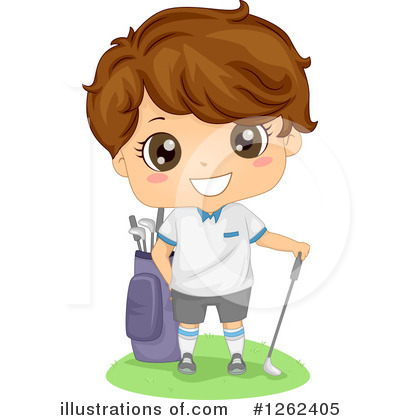 Golfing Clipart #1262405 by BNP Design Studio
