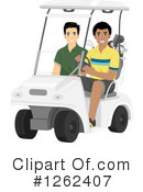 Royalty-Free (RF) Golf Clipart Illustration #1262407